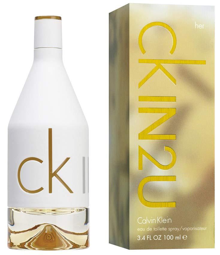 Ck In2u For Her Calvin Klein 100мл парфюмерия в красноярске
