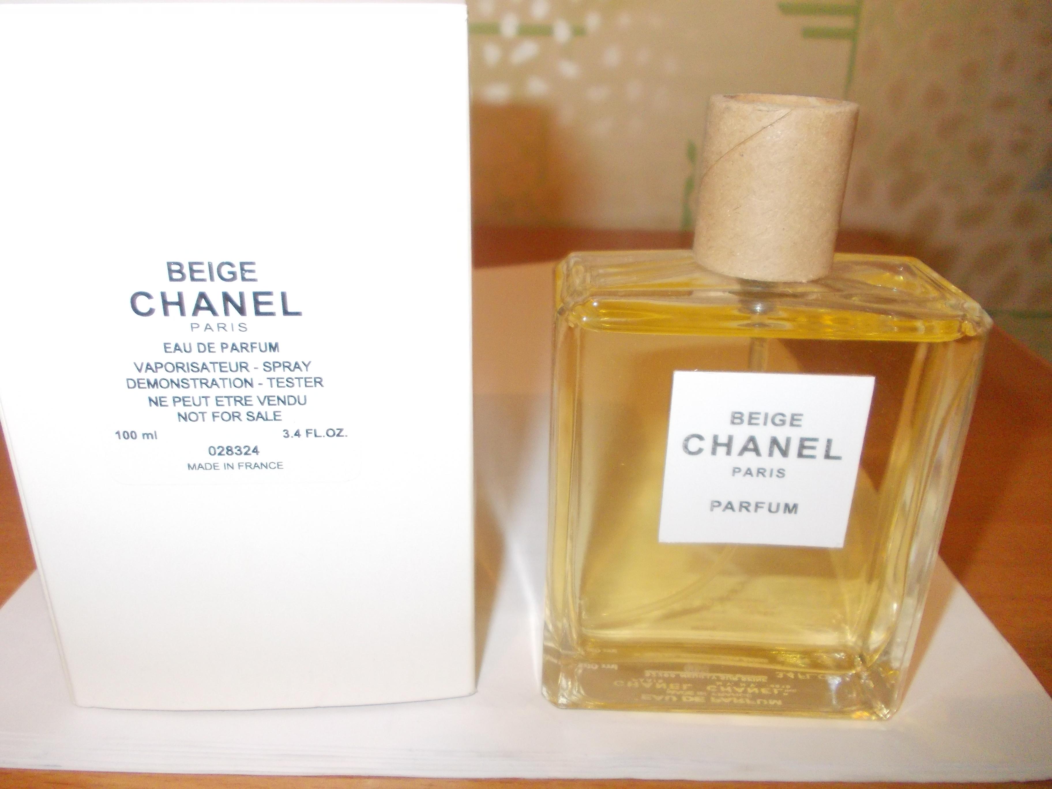 Beige Eau De Parfum Chanel тестер 100мл парфюмерия в красноярске