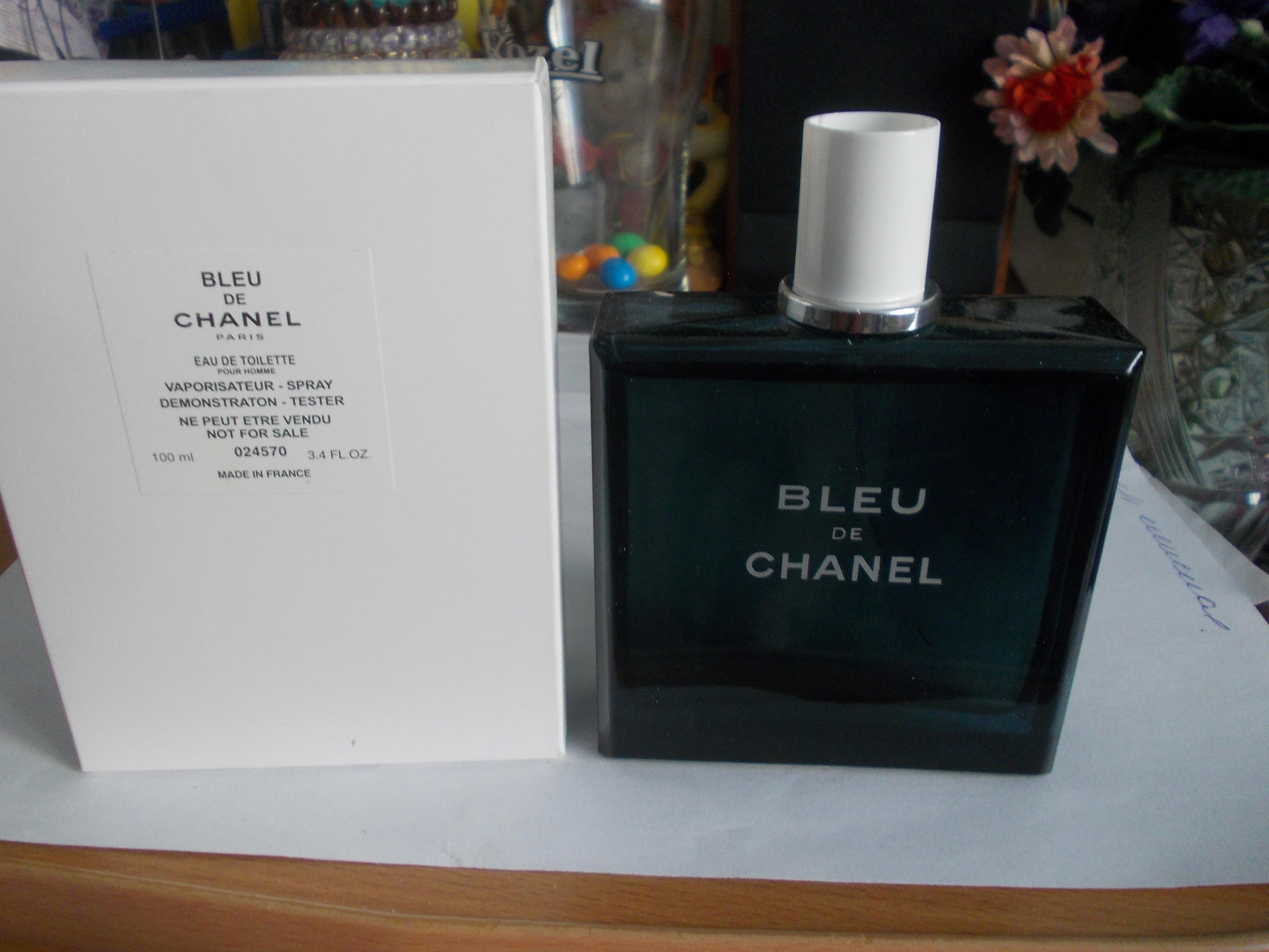 Bleu De Chanel Eau De Toilette тестер 100мл парфюмерия в красноярске