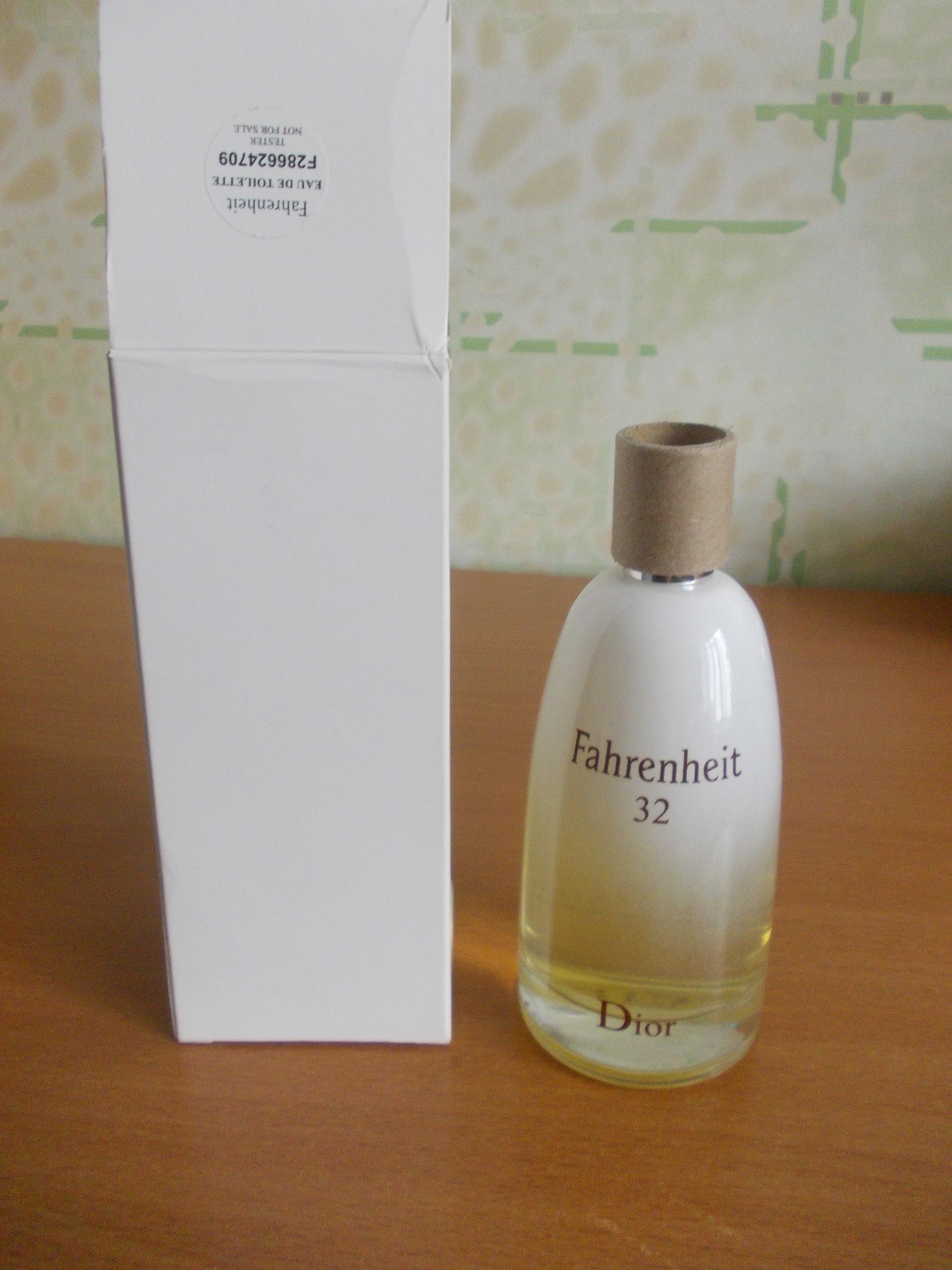Fahrenheit 32 Dior тестер 100мл парфюмерия в красноярске