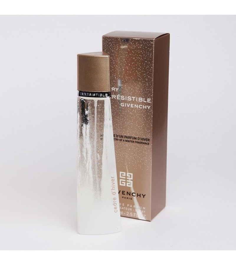 Very Irresistible Poesie Dun Parfum Dhiver Cedre Dhiver Givenchy